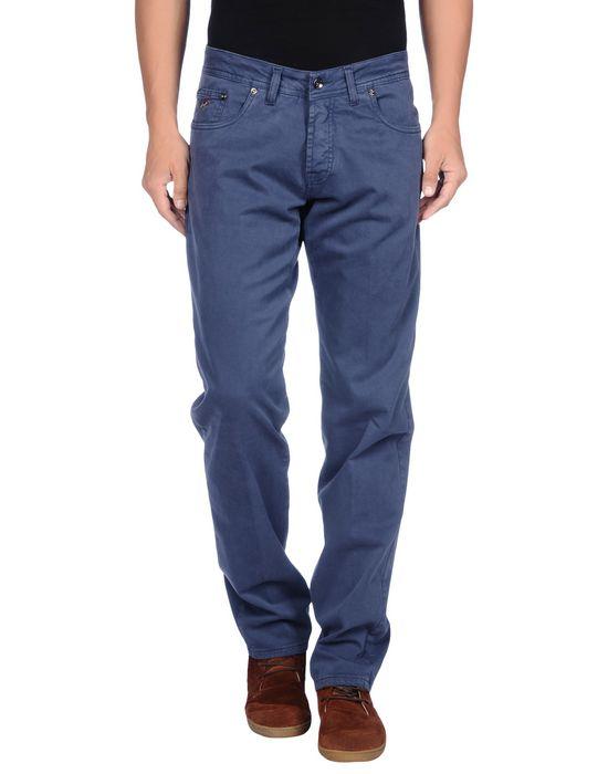 Повседневные брюки KEVIN UP. Цвет: грифельно-синий