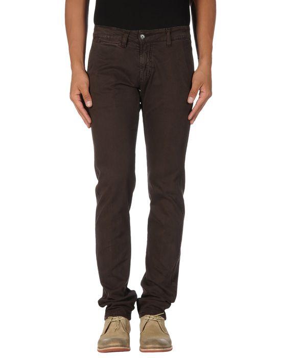 Повседневные брюки KEVIN UP. Цвет: темно-коричневый
