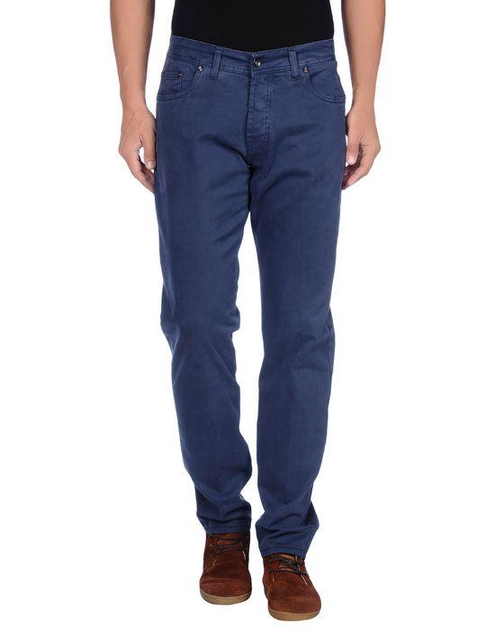 Повседневные брюки KEVIN UP. Цвет: темно-синий