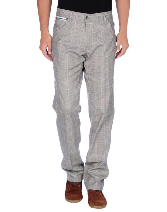 Повседневные брюки KEVIN UP. Цвет: светло-серый