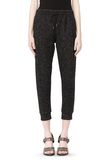 T by ALEXANDER WANG BOUCLE FLEECE TRACK PANT PANTS Adult 8_n_d