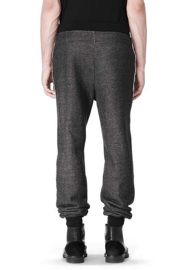 T by ALEXANDER WANG COTTON TWILL KNIT FRENCH TERRY SWEATPANTS PANTS Adult 12_n_d