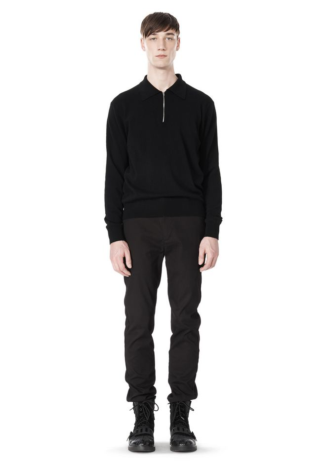 ALEXANDER WANG CLASSIC CHINO PANT WITH WELT POCKET