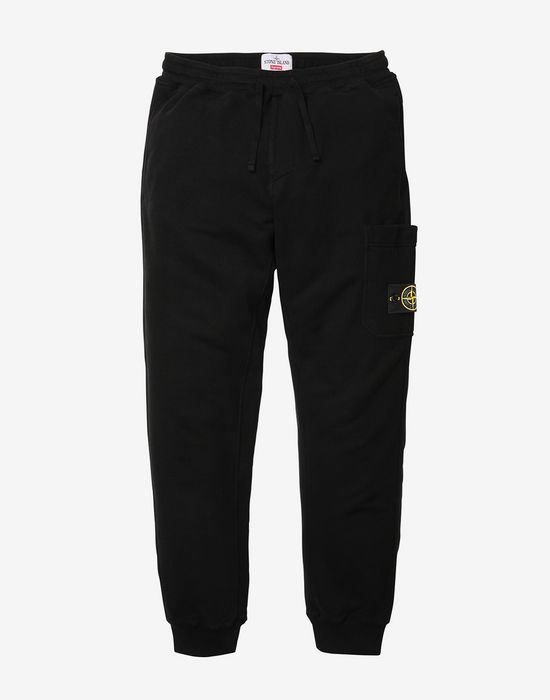 Fleece Pants Stone Island Men Official Store