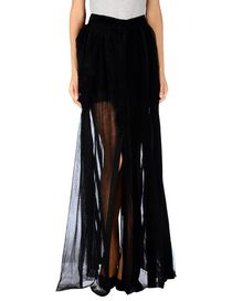 ANN DEMEULEMEESTER - Long skirt