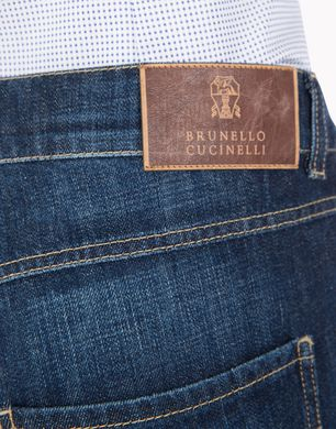 BRUNELLO CUCINELLI M0Z37X1280 Denim trousers U d