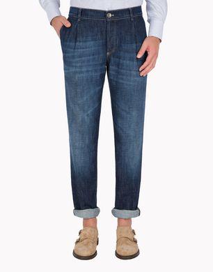BRUNELLO CUCINELLI M0Z37X1280 Denim trousers U f