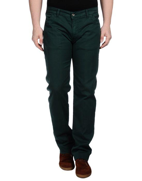 Повседневные брюки KEVIN UP. Цвет: темно-зеленый
