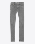 ORIGINAL LOW WAISTED SKINNY JEAN IN Grey STRETCH DENIM
