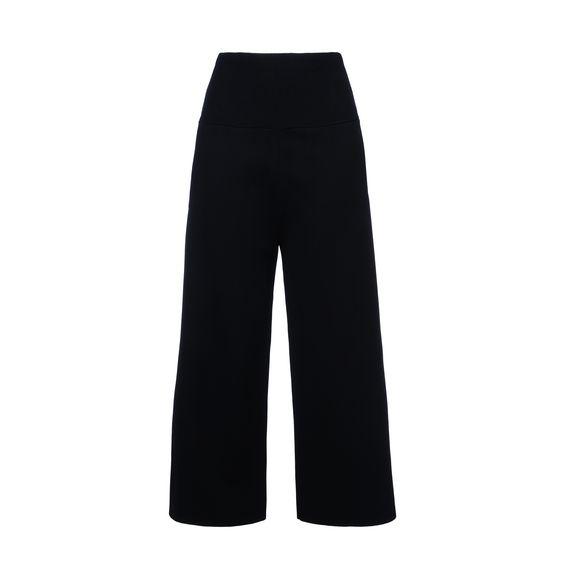 STELLA McCARTNEY, Pantalon évasé, Pantacourt de forme compacte