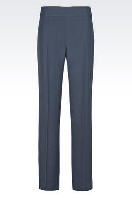 Armani Wide-leg trousers Women palazzo pants in cady