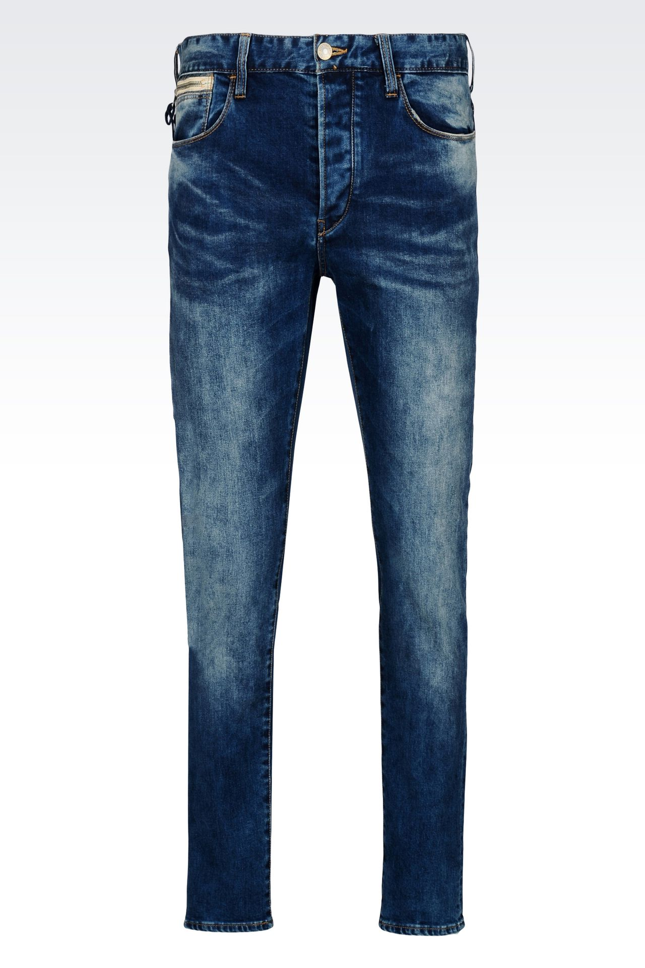 armani jeans men medium wash anti fit jeans. Black Bedroom Furniture Sets. Home Design Ideas