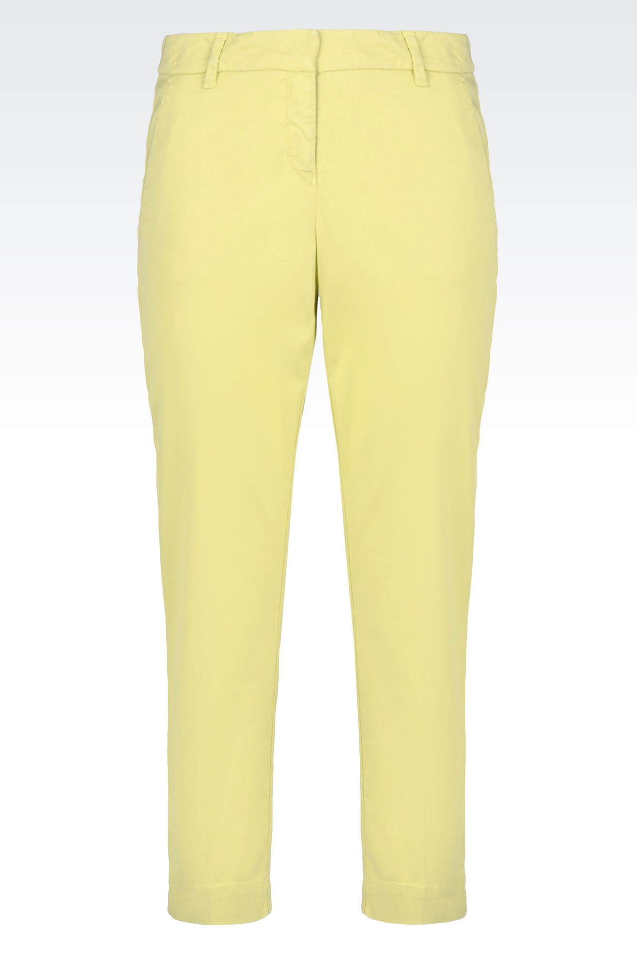 Model Atelier Luxe Cotton Sateen Capri Pants - Pleated Cuffed (For Women) - Save 82%