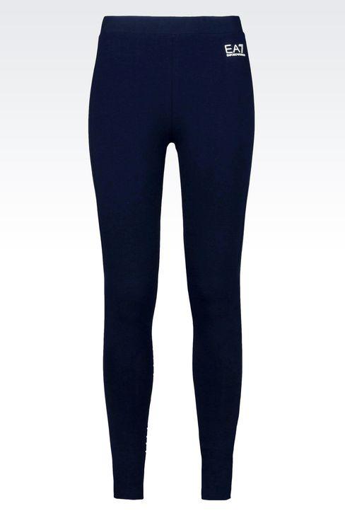 7COLOURS LINE JERSEY LEGGINGS: Leggings Women by Armani - 1