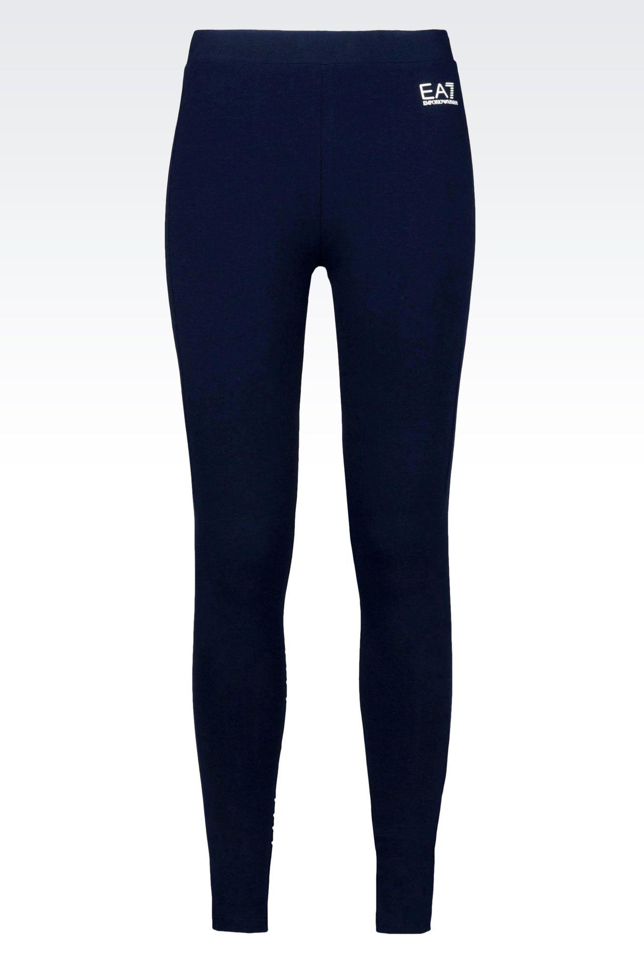 7COLOURS LINE JERSEY LEGGINGS: Leggings Women by Armani - 0