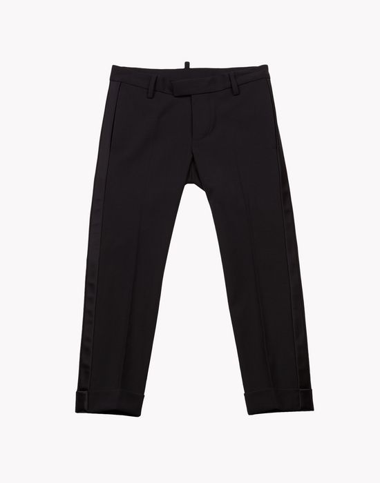 satin trousers pants Man Dsquared2