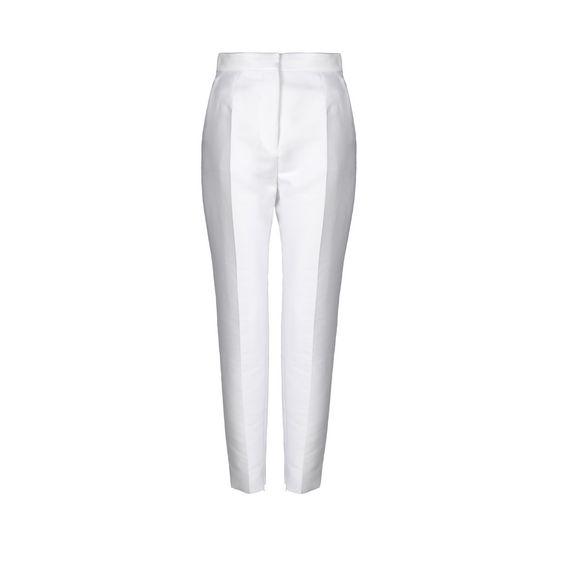 STELLA McCARTNEY, Pantalon à coupe droite, Pantalon Della