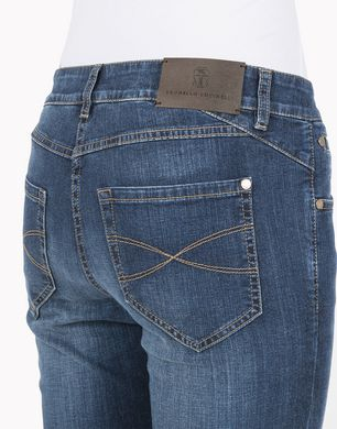 BRUNELLO CUCINELLI M0H15P5008 Pantalone in denim D d