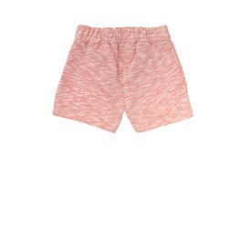 STELLA McCARTNEY KIDS, Bottoms, Super soft organic cotton fleece shorts in orange sorbet tonewith an elasticated waist, side pockets and a rolled hem.