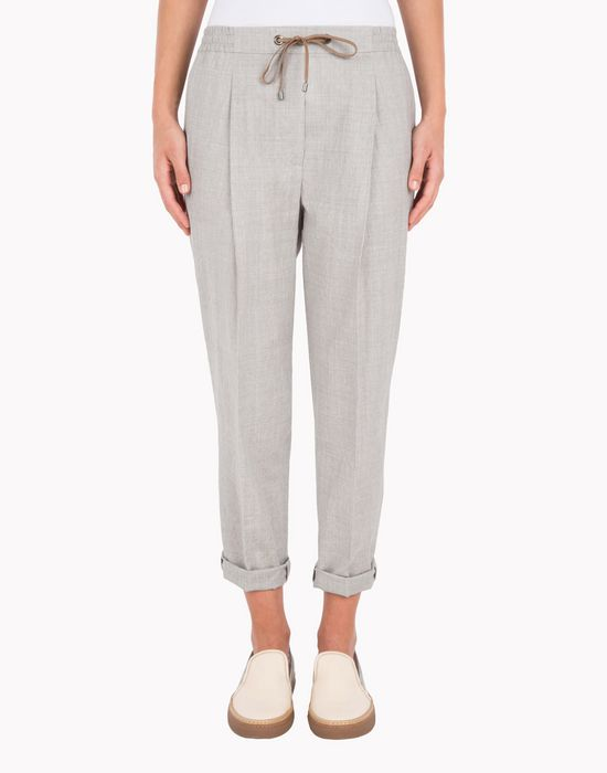 BRUNELLO CUCINELLI MF501P1622 Casual trouser D f