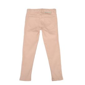 STELLA McCARTNEY KIDS, Bottoms, Skinny denim cotton stretch jeans with ankle zips and five pocket detail. <br> Concealed zip and hook fastening with Stella McCartney logo tab.