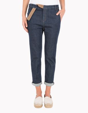 BRUNELLO CUCINELLI M0L17P5098  Pantalone in denim D f