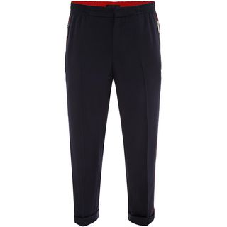 ALEXANDER MCQUEEN, Casual Pants, Single Crepe Casual Pants