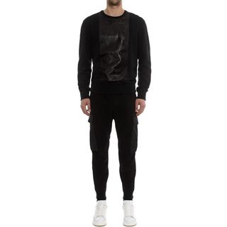 ALEXANDER MCQUEEN, Casual Pants, Crepe Military Pants