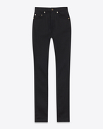 ORIGINAL HIGH WAISTED SKINNY JEAN IN Black Rinse Super Stretch Denim