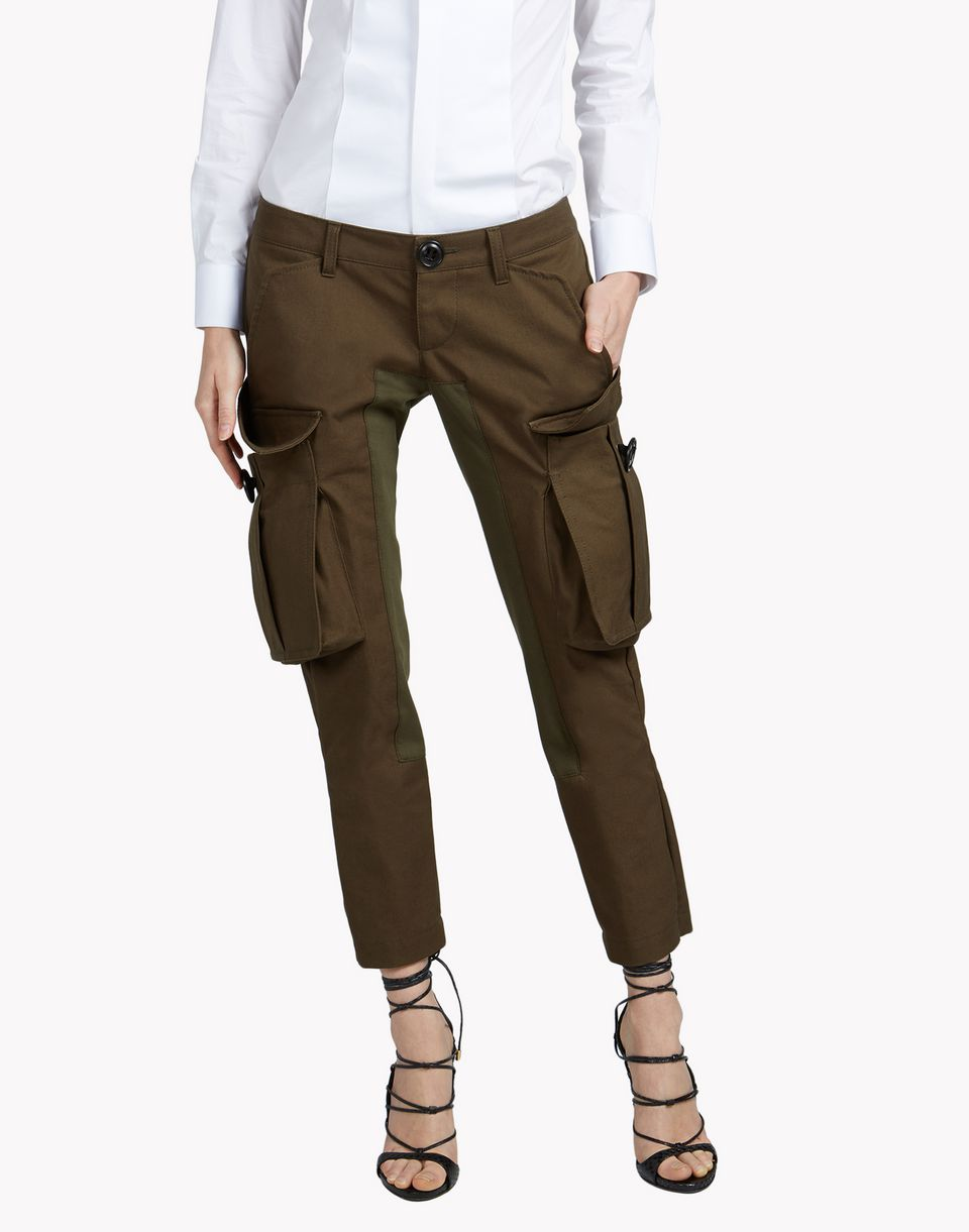 Dsquared2 Icon Anniversary Cargo Pants, Pants Women - Dsquared2 ...