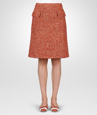 Designer Women's Clothes United States ARIZONA PIED DE POULE SKIRT