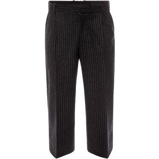 ALEXANDER MCQUEEN, Casual Pants, Wide Crop Trousers