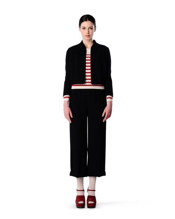REDValentino JR0RB0951WW 0NO Trousers Woman d