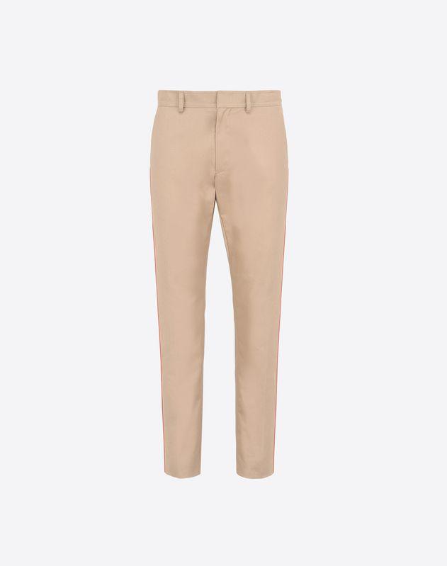Pantalon bande lat rale pantalons homme valentino uomo boutique en ligne valentino - Pantalon bande laterale homme ...