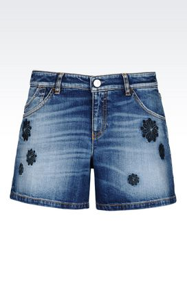 Armani Denim shorts Women denim shorts