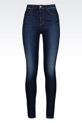 Armani Jeans Women super skinny medium dark wash jeans