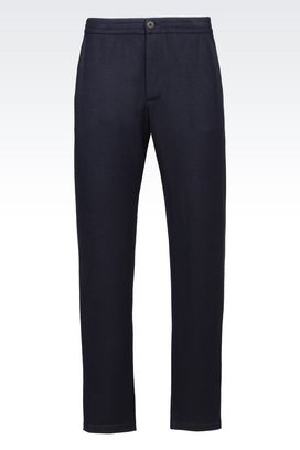Armani trousers Men trousers in cashmere