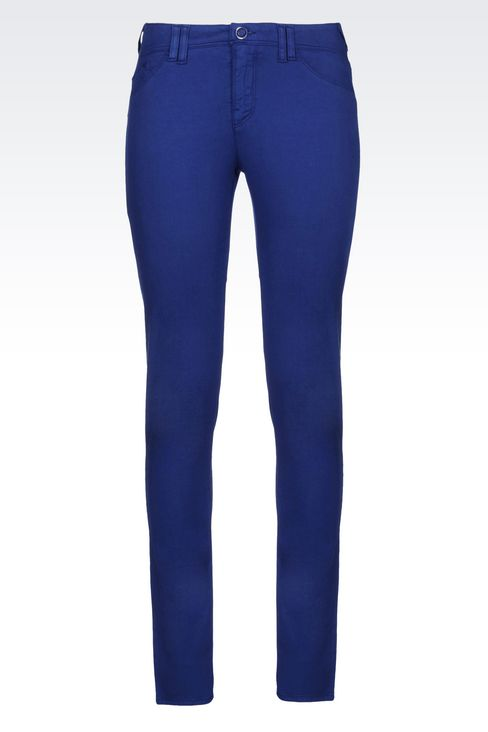 JEGGINGS IN MODAL BLEND: 5 pockets Women by Armani - 1