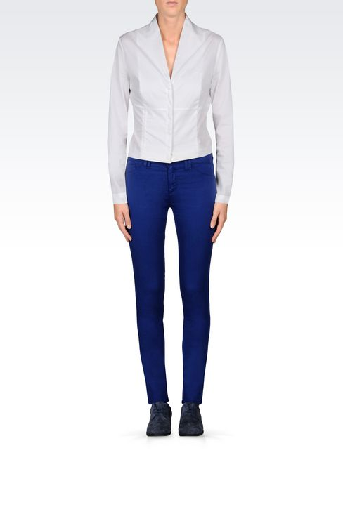 JEGGINGS IN MODAL BLEND: 5 pockets Women by Armani - 2