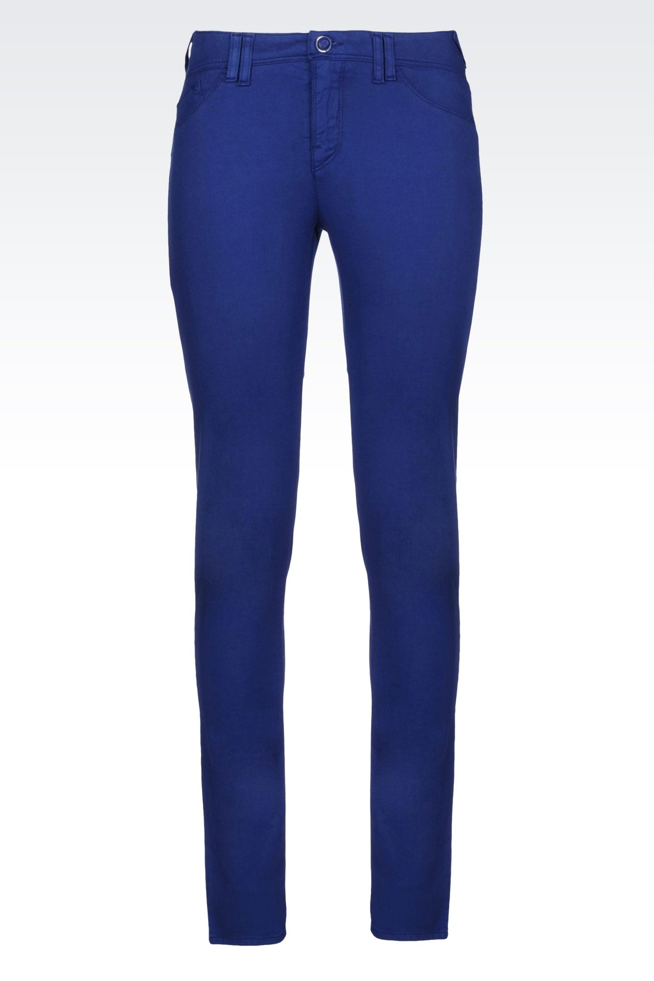 JEGGINGS IN MODAL BLEND: 5 pockets Women by Armani - 0