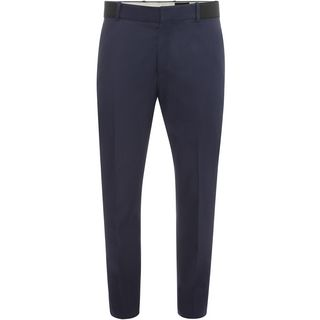 ALEXANDER MCQUEEN, Casual Pants, Contrasting Waistband Trousers