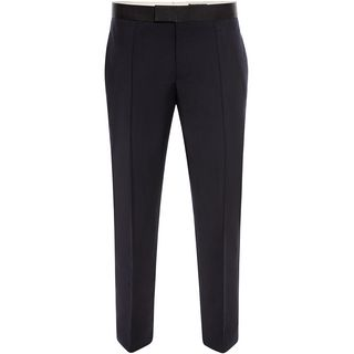 ALEXANDER MCQUEEN, Tailored Pant, Wool Mohair Tuxedo Trousers