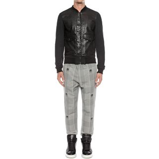ALEXANDER MCQUEEN, Casual Trousers, Panelled Sweatshirt Trousers