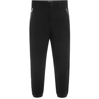 ALEXANDER MCQUEEN, Casual Trousers, Single Crepe Slim Sporty Trousers