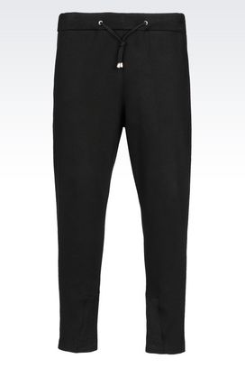Armani Sport pants Men trousers in interlock