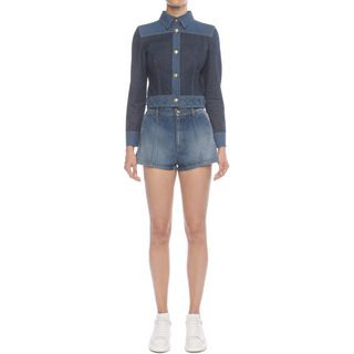 ALEXANDER MCQUEEN, Trousers, Denim Shorts