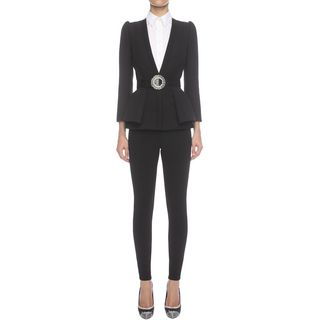 ALEXANDER MCQUEEN, Trousers, Stretch Bumster Trousers
