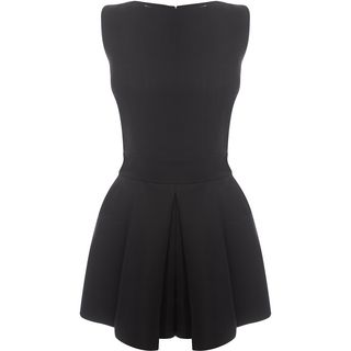 ALEXANDER MCQUEEN, Mini Dress, Box Pleat All In One