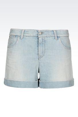 Armani Denim shorts Women denim shorts