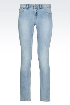 Armani Jeans Women skinny fit light wash jeans